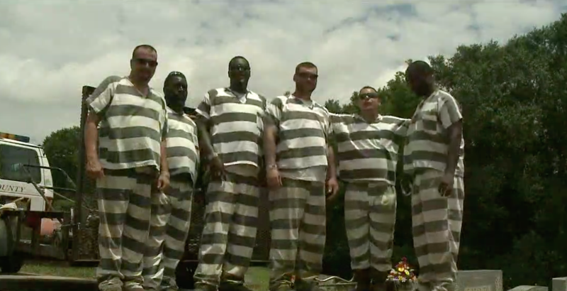 Georgia Inmates Save Polk County Deputy Who Collapsed ...