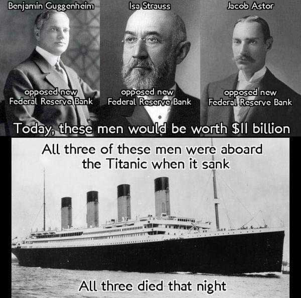 what was different with the titanic was the huge political implications it would have after it sunk